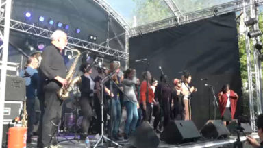 Anderlecht: l'orchestre populaire de Bruxelles enflamme la scène