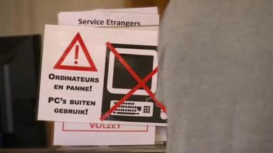 Panne informatique à la commune de Schaerbeek