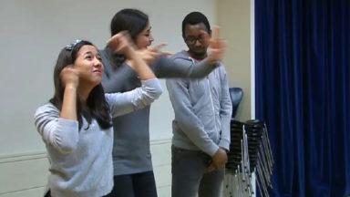La Shoah interprétée par une chanson en langue des signes