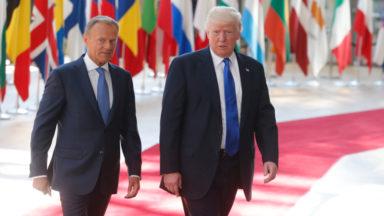 Donald Trump a rencontré les dirigeants européens : «Pas de position commune sur la Russie»
