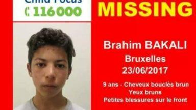 Avis de recherche : un garçon de neuf ans disparu depuis le 23 juin