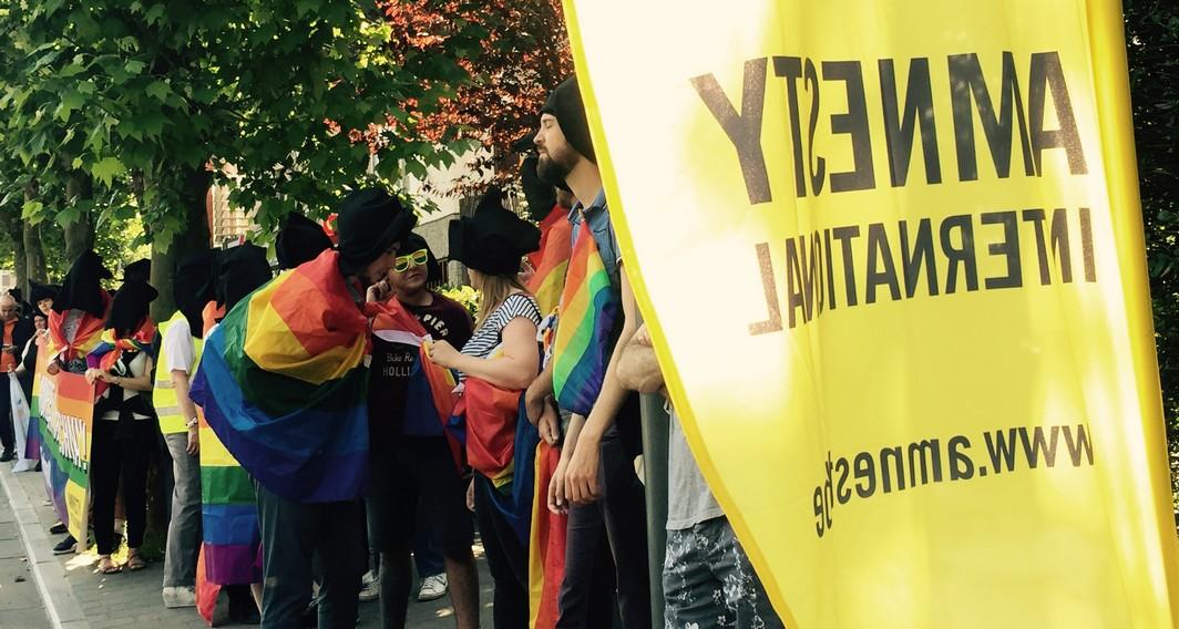 Amnesty International - Manifestation 1