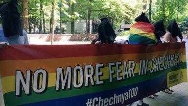 Une manifestation et une pétition pour mettre fin à la persécution des homosexuels en Tchétchénie