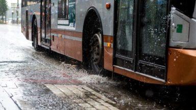 Météo : la pluie s'alanguit sur Bruxelles