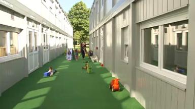 Etterbeek : la crèche Aimé Dupont relogée dans des pavillons modulaires
