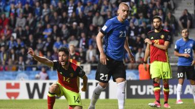 Les Diables rouges (0-2 en Estonie) ont fait un bond vers le Mondial