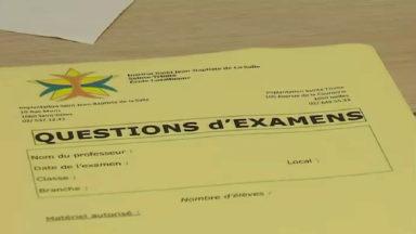 Saint-Gilles : la session des élèves est prolongée suite à un vol de copies d'examens