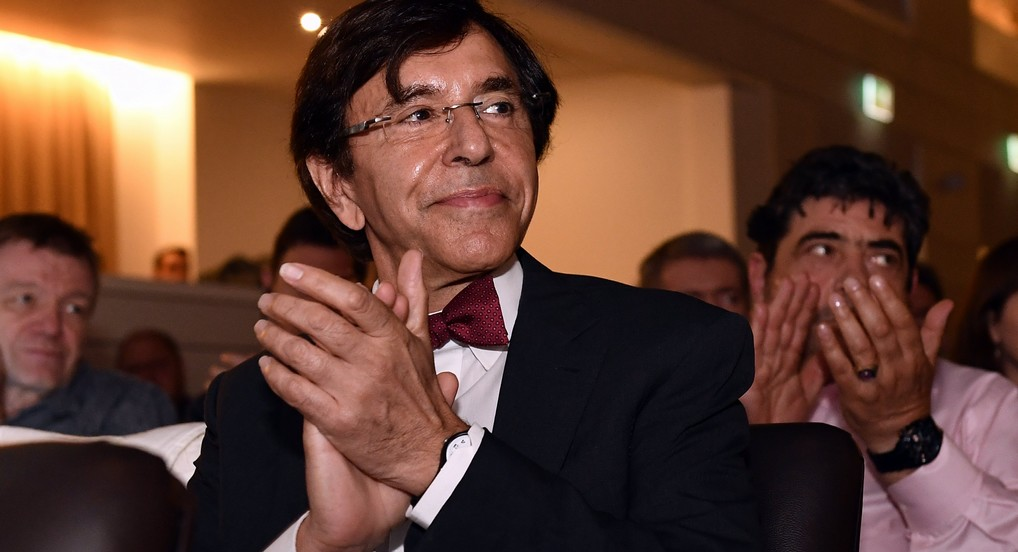 PS' chairman Elio Di Rupo pictured during an extraordinary congress of FGTB-ABVV socialist trade union, Friday 09 June 2017, in Brussels. BELGA PHOTO ERIC LALMAND