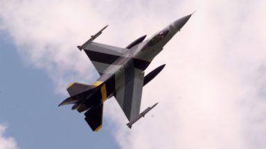 Le gouvernement décidera de la prolongation des quatre F-16 en Syrie au prochain conseil