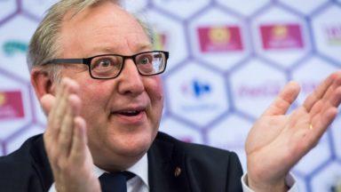 Union belge de football : François De Keersmaecker quitte après 11 ans de présidence