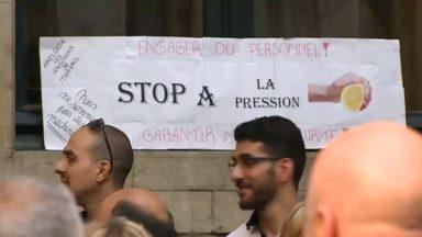 Le personnel de la Ville de Bruxelles fait grève : il dénonce un manque de personnel