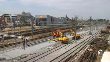 Infrabel à mi-chemin dans la rénovation de l'infrastructure ferroviaire à Schaerbeek