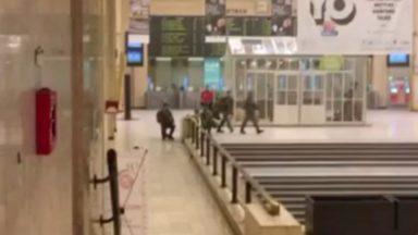 Acte terroriste à Bruxelles-Central : un témoin a enregistré la deuxième explosion