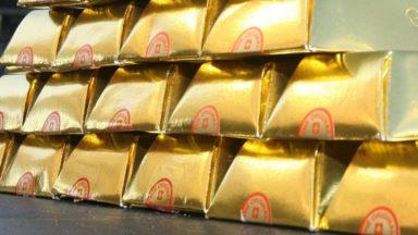 16 kilos d'or et 7,8 kilos  de pilules d'ecstasy retrouvés chez deux personnes à Brussels Airport