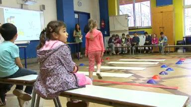 Etterbeek : les enfants de première primaire ont reçu leur brevet «piéton»