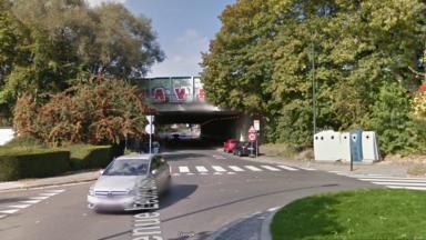Woluwe-Saint-Lambert :  circulation interdite sous le pont Léon Grosjean