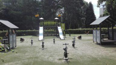 Anderlecht : une plaine de jeux se transforme en «forêt enchantée» au parc du Scherdemael