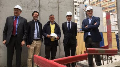 Un nouvel immeuble d'appartements et de bureaux pour redynamiser le quartier Léopold