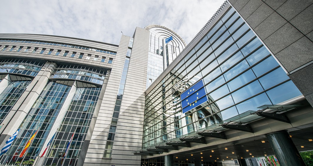 20150511 - BRUSSELS, BELGIUM: Illustration picture shows  the headquarters of the European Parliament, on Monday 11 May 2015, in Brussels. BELGA PHOTO SISKA GREMMELPREZ