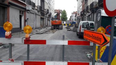 Molenbeek : le chantier de la rue de Ribaucourt a débuté