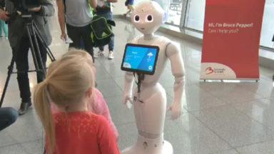 Brussels Airport : BRUce Pepper accueillera les passagers pendant tout l'été