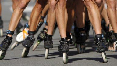 Roller bike parade : environ 1.200 personnes ont roulé pour le climat