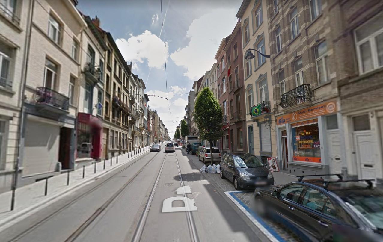 Saint-Gilles - Avenue Theodore Verhaeghen - Street View