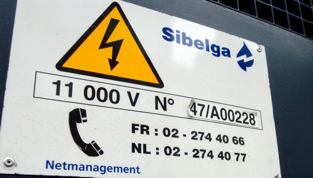 BRU130 - 20060228 - BRUSSELS, BELGIUM: Illustration picture shows a Sibelgas Industrial customer reference on on industrial electricity - gas group, Tuesday 28 February 2006. BELGA PHOTO HERIWG VERGULT
