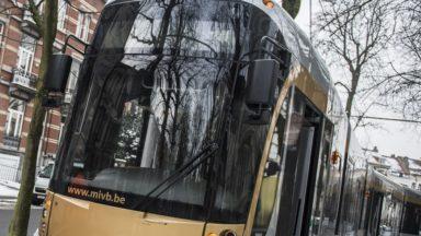 Uccle : deux trams des lignes 4 et 92 entrent en collision, pas de blessé