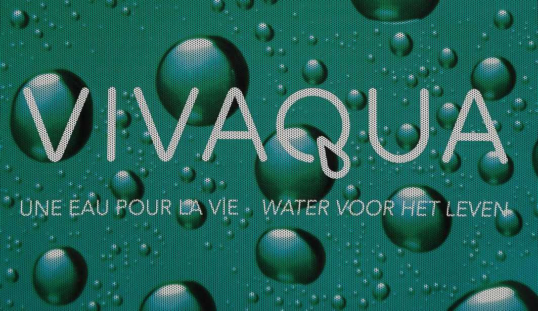 20150107 - BRUSSELS, BELGIUM: Illustration picture shows the Vivaqua logo at the Vivaqua headquarters on Wednesday 07 January 2015, in Brussels. BELGA PHOTO SISKA GREMMELPREZ