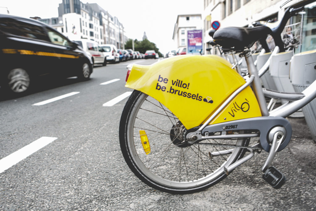 Illustration picture shows the Villo bike sharing service on Tuesday 06 September 2016, in Brussels. BELGA PHOTO SISKA GREMMELPREZ