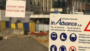 Le nombre des permis de bâtir est en diminution à Bruxelles