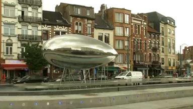 """La fontaine """"La Cabosse"""" inaugurée sur la Place Simonis"""