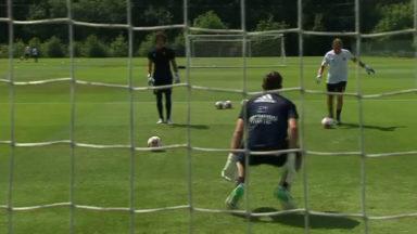 Football : premier entraînement de la saison pour Anderlecht