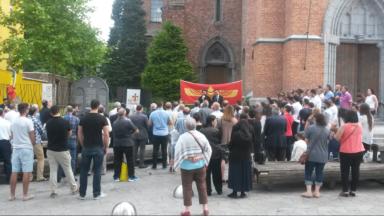 200 personnes commémorent le génocide araméen à Jette
