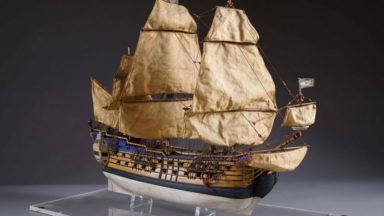 La maquette originale de la Licorne sera vendue aux enchères ce lundi à Bruxelles