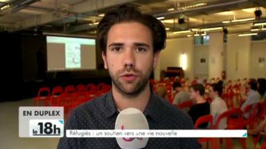 Des réfugiés exposent leurs talents à Molenbeek