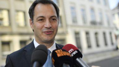 Alexander De Croo (Open Vld) veut revenir à une Belgique plus fédérale
