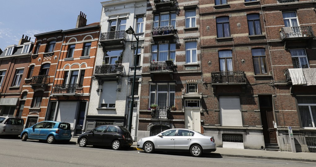 Illustration shows a house in Anderlecht, Brussels, after a house search by the police regarding terrorist attacks, Wednesday 05 July 2017. BELGA PHOTO THIERRY ROGE