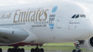 Emirates reprend lundi ses vols vers Bruxelles