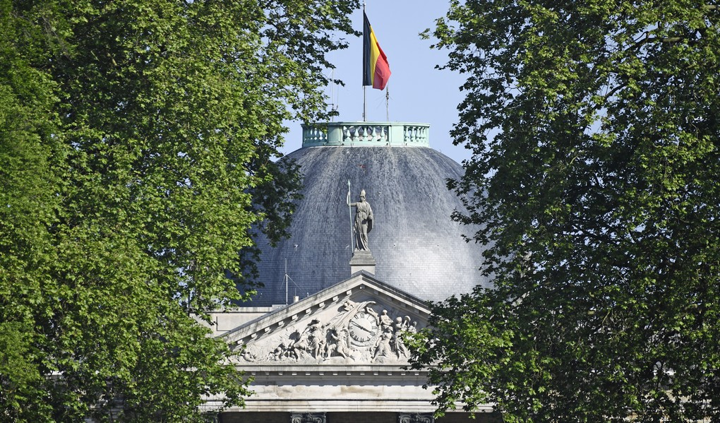 Illustration picture shows the Royal Castle of Laeken before a visit of the First Ladies and Queen to the greenhouses of the Royal castle in Laken/Laeken, on Thursday 25 May 2017, in Brussels. US President Trump is on a two day visit to Belgium, to attend a NATO (North Atlantic Treaty Organization) summit on Thursday. BELGA PHOTO YORICK JANSENS