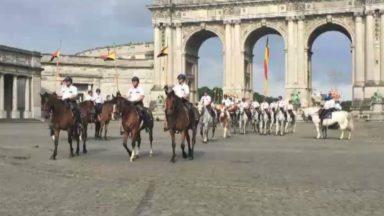 Fête nationale : l'escorte royale répète ses gammes avant le défilé du 21 juillet