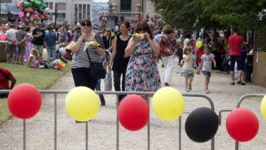Plus de 200.000 personnes célèbrent le 21 juillet à Bruxelles : une Fête nationale animée