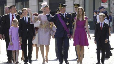 Fête nationale : la famille royale au complet pour le Te Deum