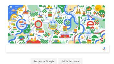 Grand'Place, palais royal… : Google célèbre la Fête nationale belge sur sa page d'accueil