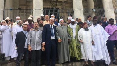 La marche des musulmans contre le terrorisme s'arrête à Bruxelles avant Paris et Nice
