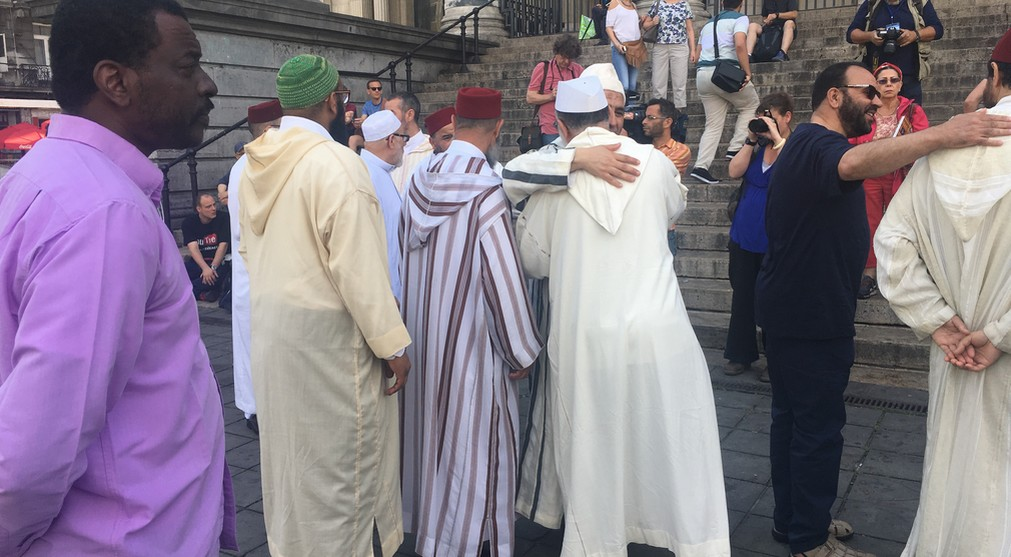 Imams - Marche contre le Terrorisme - Bruxelles 3
