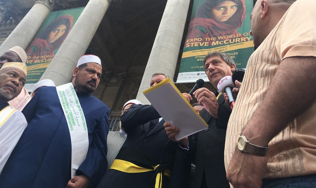 Imams - Marche contre le Terrorisme - Bruxelles 5