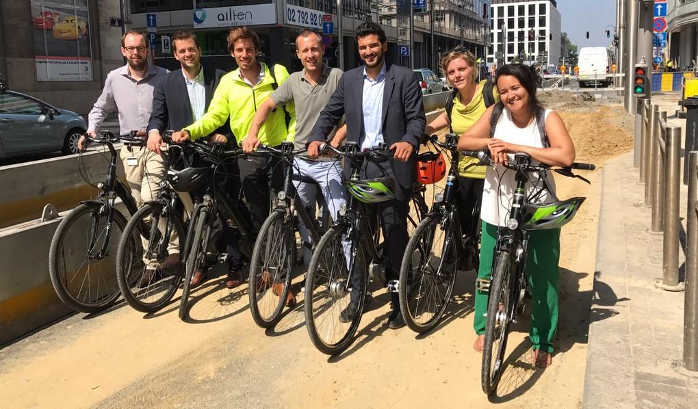 Jeunes cdH - Vélos électriques