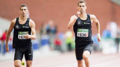 Kevin et Dylan Borlée réussissent le minimum sur 400m pour l'Euro de Berlin